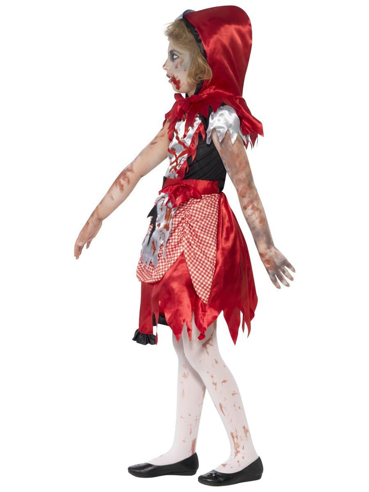 Zombie Miss Hood Costume, Child