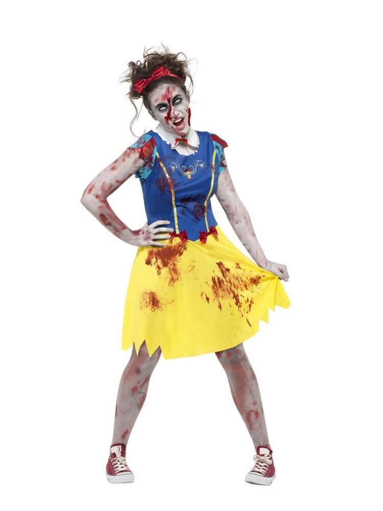 Smiffys Zombie Miss Snow Teen Girl's Costume - 45613