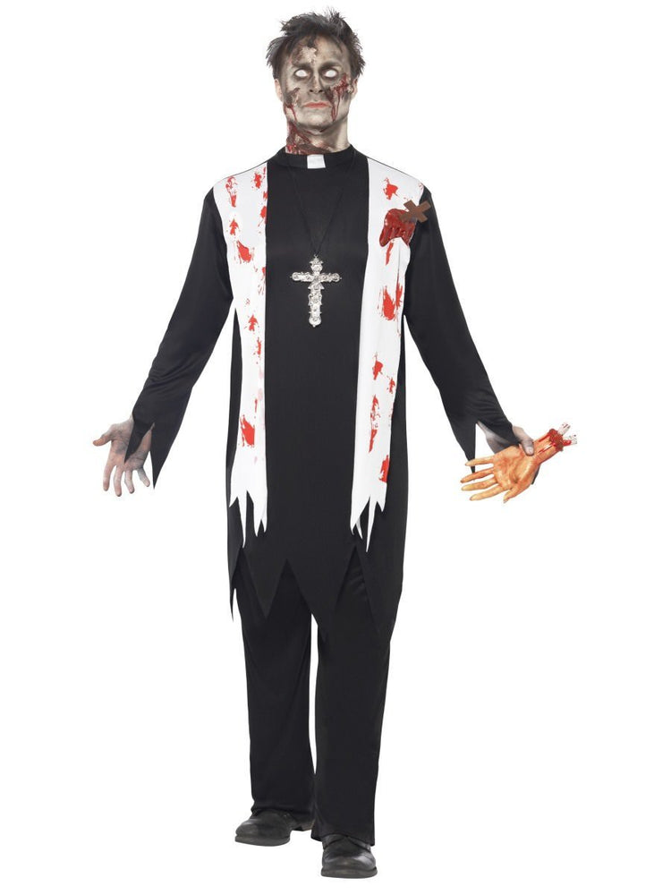 Zombie Priest/Vicar Costume
