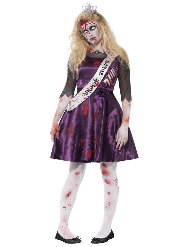 Smiffys Zombie Prom Queen Teen Girl's Costume - 44218