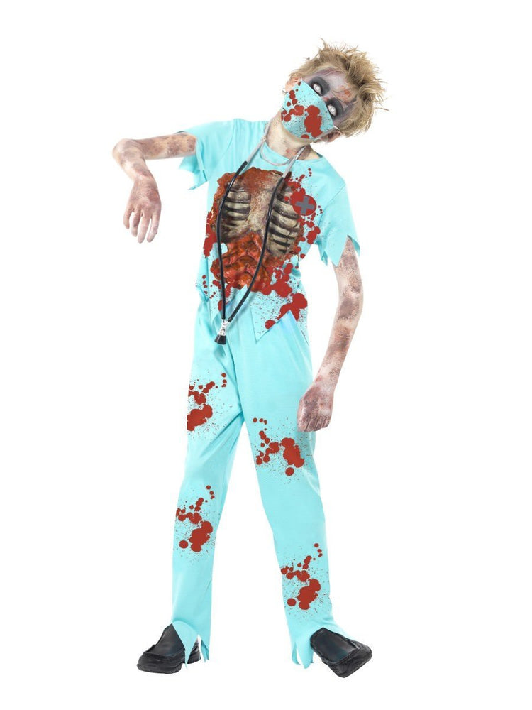 Zombie Surgeon Costume, Child