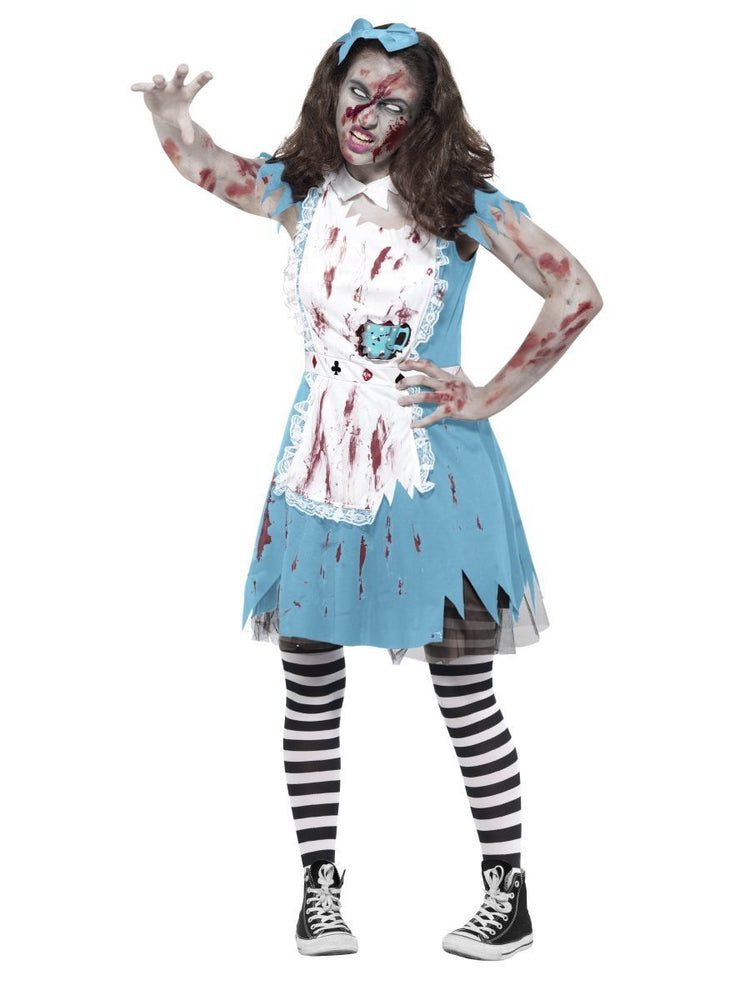 Smiffys Zombie Tea Party Teen Girl's Costume - 45612
