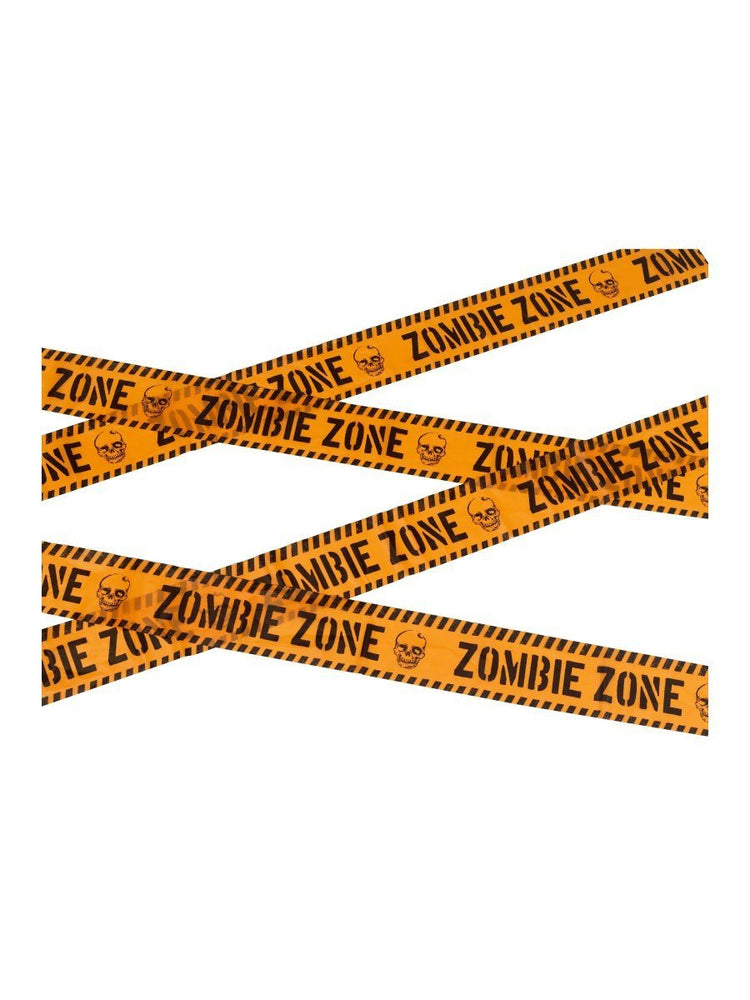 Smiffys Zombie Zone Caution Tape - 47022