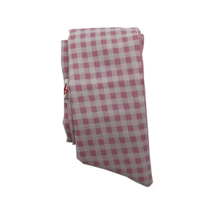 Pink Checked Baby Headband