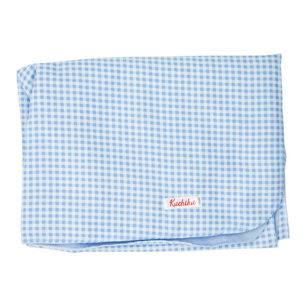 Blue Checked Gift Set