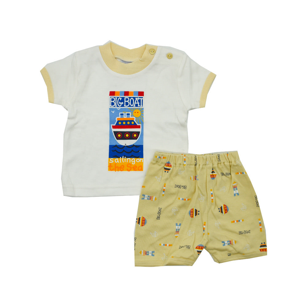 Baby Boy's Pajama Set