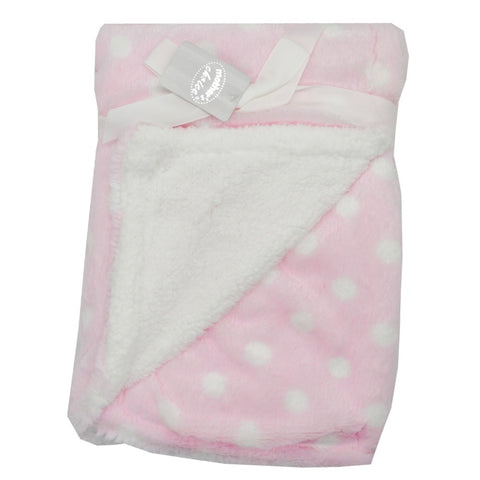 Pink Polyester Baby Receiver