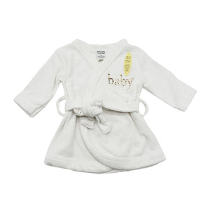 Baby Bath Robes with Assorted Colour Trims