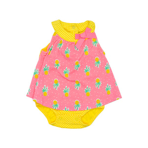 Baby Girl's Pineapple Romper
