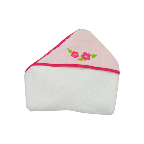 Pink Cotton Hooded Baby Towel