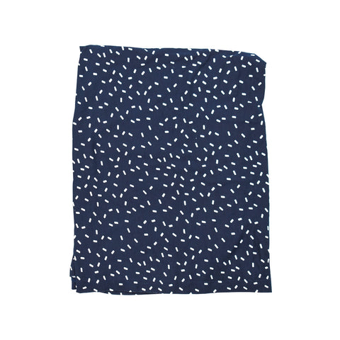 Navy Speckled Essential Baby Cover