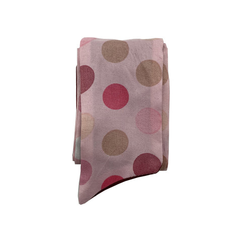 Pink Dotted Baby Headband