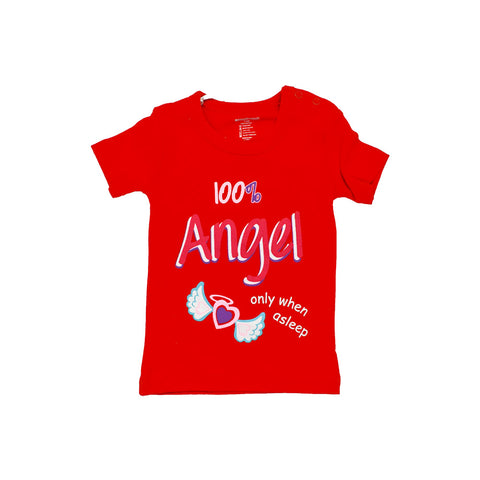 Red Baby Printed T-Shirt