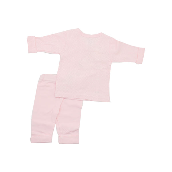 Adorable Baby Girl's Pink Pajamas