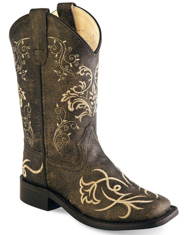 embrodiered boot