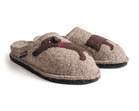 Doggy Beige Slipper