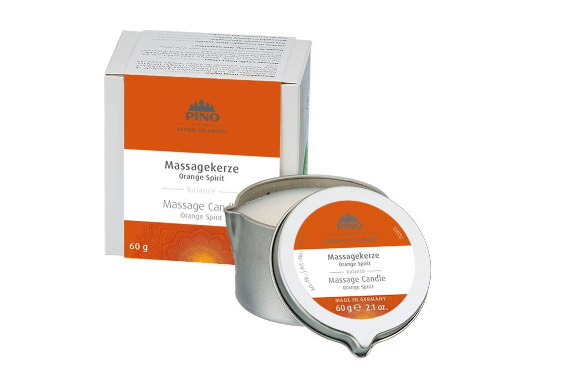 Massage Candle Orange Spirit - 60g / 2.1 oz