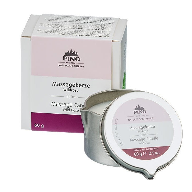 Massage Candle Wild Rose - 60g / 2.1 oz