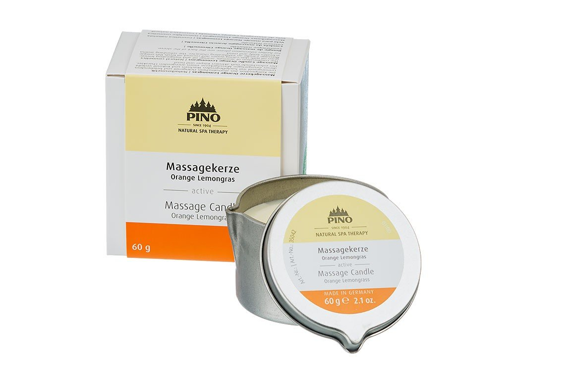 Massage Candle Orange Lemongrass - 60g / 2.1 oz