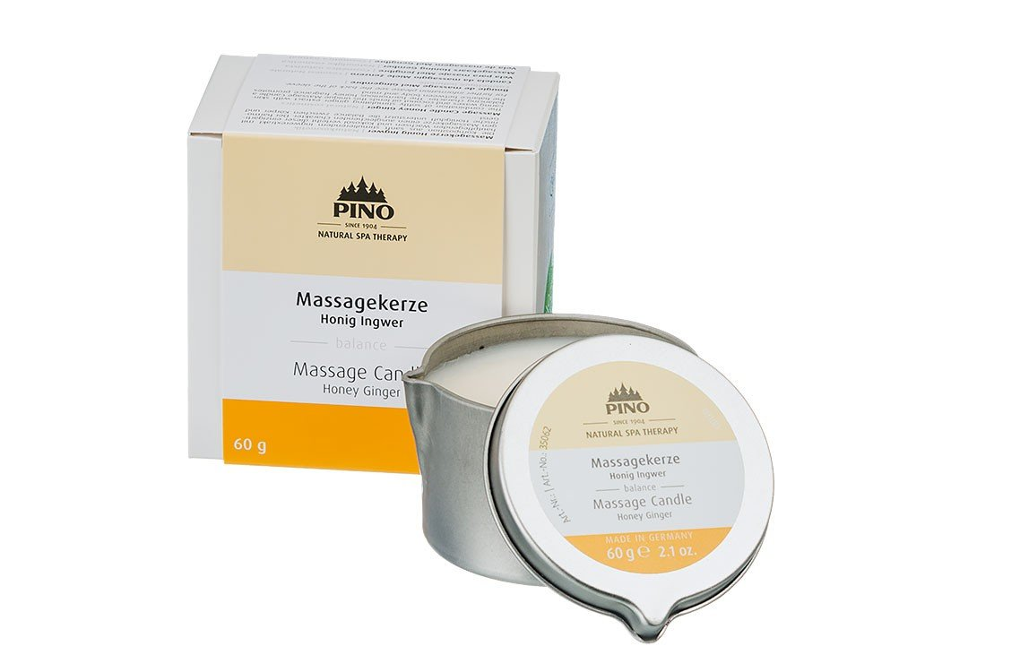 Massage Candle Honey Ginger - 60g / 2.1 oz