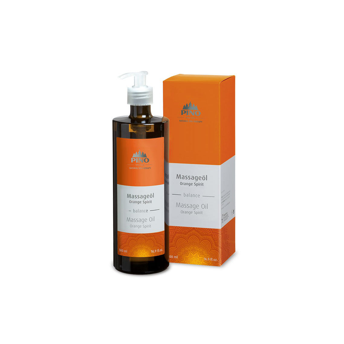 Massage Oil Orange Spirit