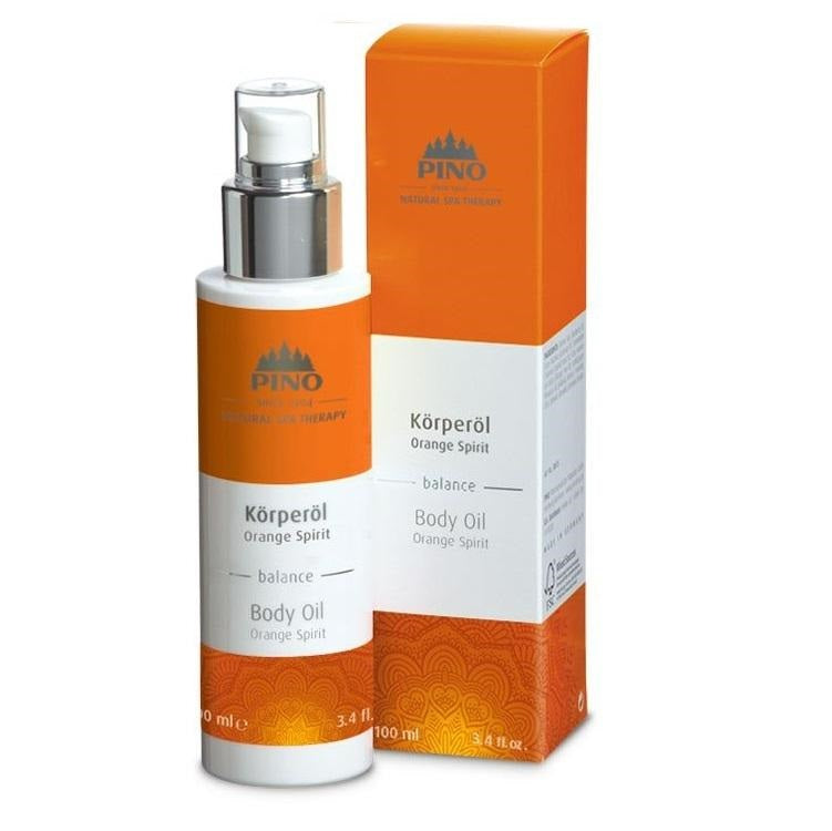 Body Oil Orange Spirit - 100ml / 3.4 fl.oz.