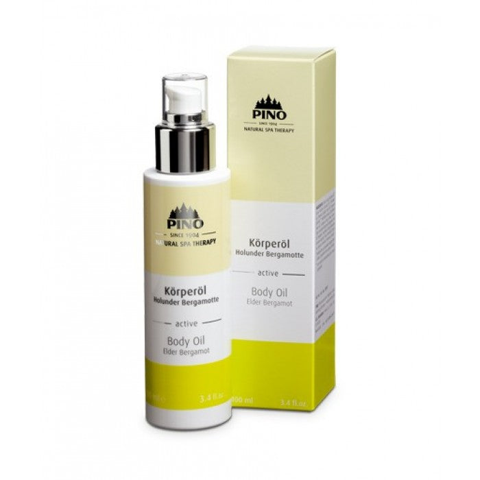Body Oil Elder Bergamot - 100 ml / 3.4 fl. oz.