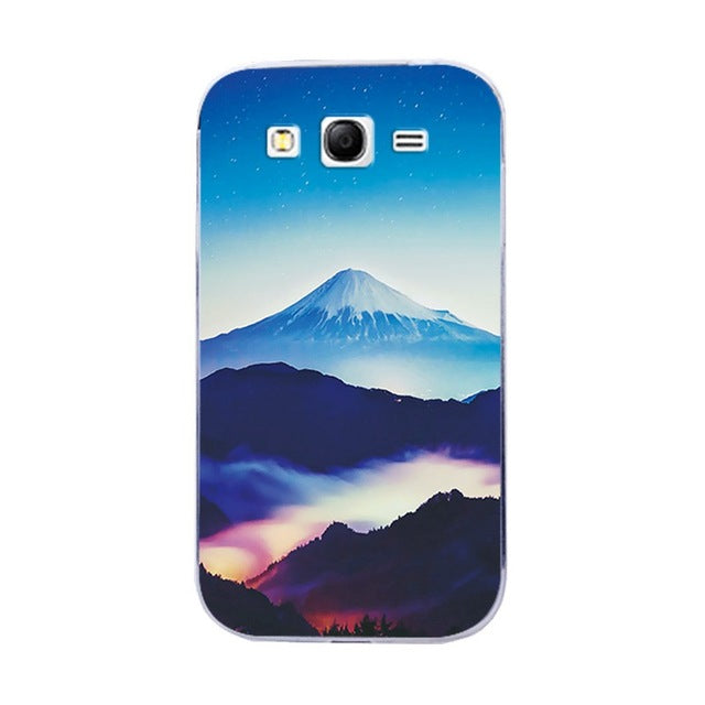 Back Protective Painted Phone Case For Samsung Galaxy Grand Duos GT I9082 i9080 9060 Neo I9060 Various Silicon Cover Capa Fundas - The Magnetic Cable Store