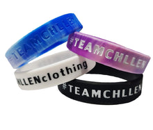 Load image into Gallery viewer, blue wristband pink purple wristband white wristband black wristband lifestyle wear chllen