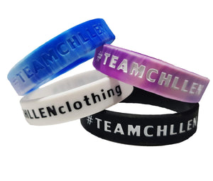 blue wristband pink purple wristband white wristband black wristband lifestyle wear chllen