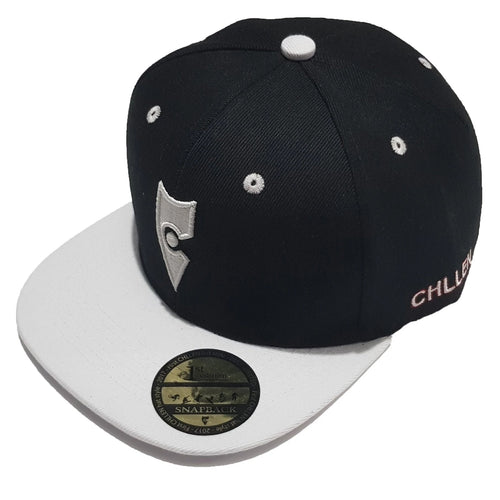 chillen chllen lifestyle wear black-white snapback hat 1st edition (2)