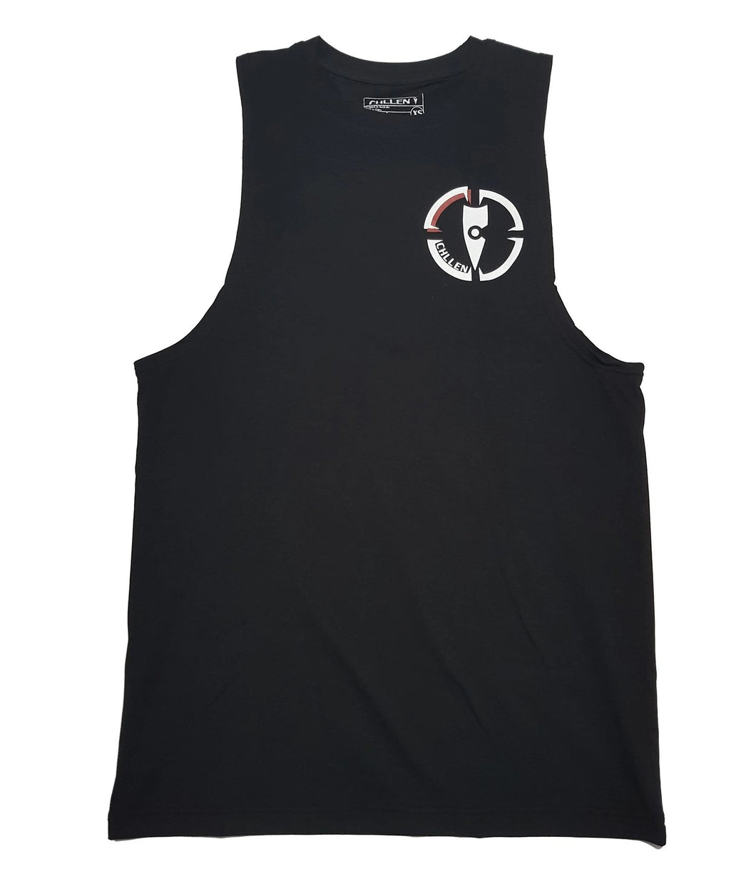 chillen chllen lifestyle wear black tank top singlet long