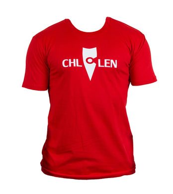 chillen chllen lifestyle wear casual red-white shirt t-shirt tee (2)