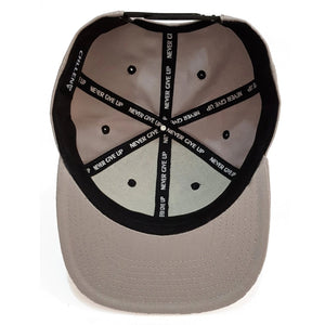 grey black snapback hat cap lifestyle wear chllen chillen clothing chillin apparel