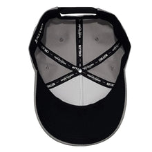 Load image into Gallery viewer, chillen chllen lifestyle wear grey black a-frame snapback hat cap