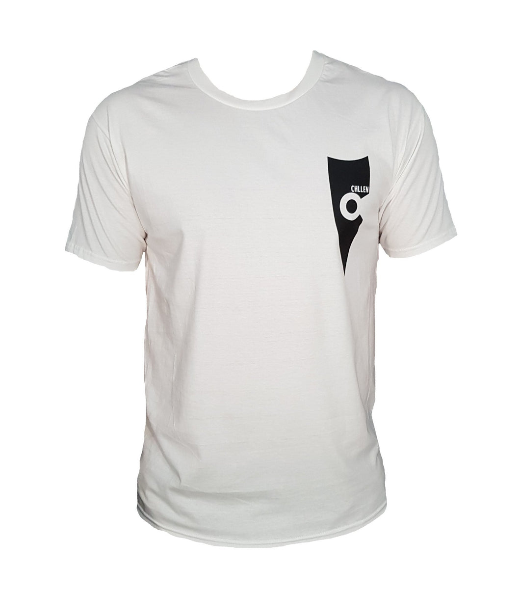 chillen chllen lifestyle wear kids casual white-black shirt t-shirt tee
