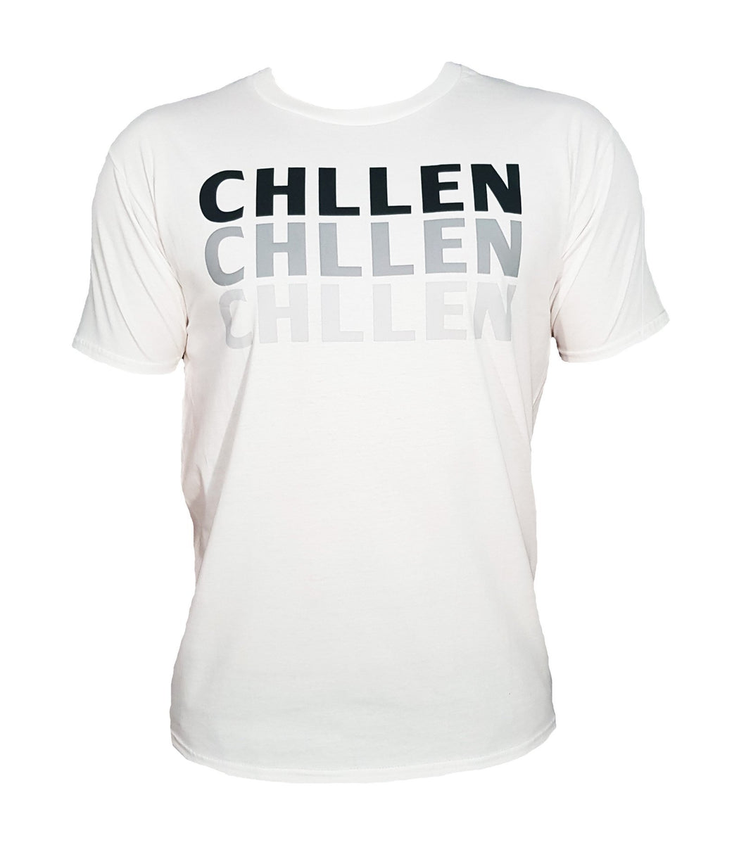 chillen chllen lifestyle wear kids casual white-grey shirt t-shirt tee