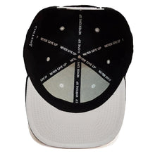 Load image into Gallery viewer, chillen chllen lifestyle wear navy blue-white snapback hat cap