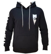 Load image into Gallery viewer, chillen chllen lifestyle wear stylish black-white jumper hoodie