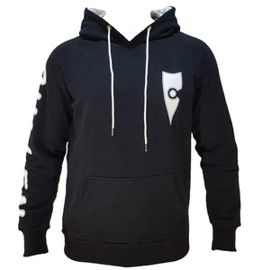 chillen chllen lifestyle wear stylish black-white jumper hoodie