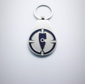 navy blue key ring navy blue key chain metal key ring metal key chain chllen lifestyle wear target