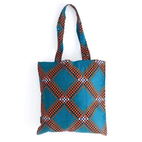 Shopper Turquoise Blocks
