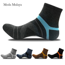 Load image into Gallery viewer, 2019 Men's Compression Socks Men Merino Wool Black Ankle Cotton Socks Herren Socken Basketball Sports Compression Sock for Man
