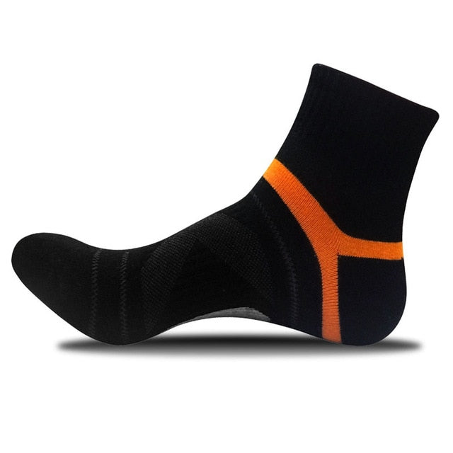 2019 Men's Compression Socks Men Merino Wool Black Ankle Cotton Socks Herren Socken Basketball Sports Compression Sock for Man