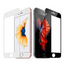 Load image into Gallery viewer, 3D coverage tempered glass for iphone 7 6 6s 8 plus glass iphone 7 8 6 X screen protector protective glass on iphone 7 plus