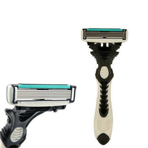 Personal Stainless Steel Safety Razor Blades,Men Shaving Original DORCO Pace 6 Layer Razor Blades for Men Shaver Razor