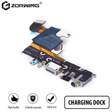 Load image into Gallery viewer, 1 PCS Charging Port Dock USB Connector Flex For iPhone 5 5S 6 6S 7 8 Plus Headphone Audio Jack Microphone Flex cable
