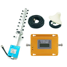 Load image into Gallery viewer, CDMA 3G 4G 2100MHz LCD 3G Mobile Phone Signal Booster Repeater Amplifier Mobile Phone Signal Repeater