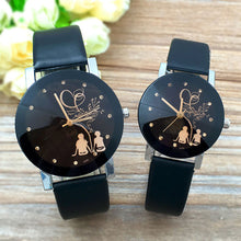 Load image into Gallery viewer, Minimalist Classic Quartz Watch Student Couple Stylish Spire Glass Belt Quartz wristwatches Lovers Casual simple Clock hours @F