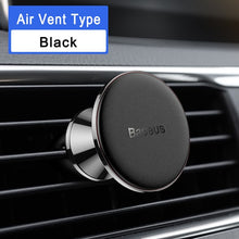 Load image into Gallery viewer, Baseus Magnetic Car Holder For Phone Universal Holder Mobile Cell Phone Holder Stand For Car Air Vent Mount GPS Car Phone Holder